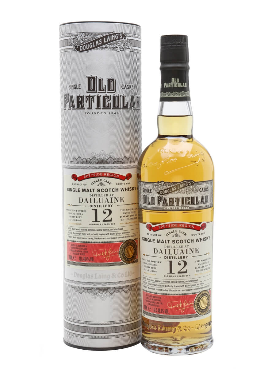 Dailuaine 2008 / 12 Year Old / Old Particular