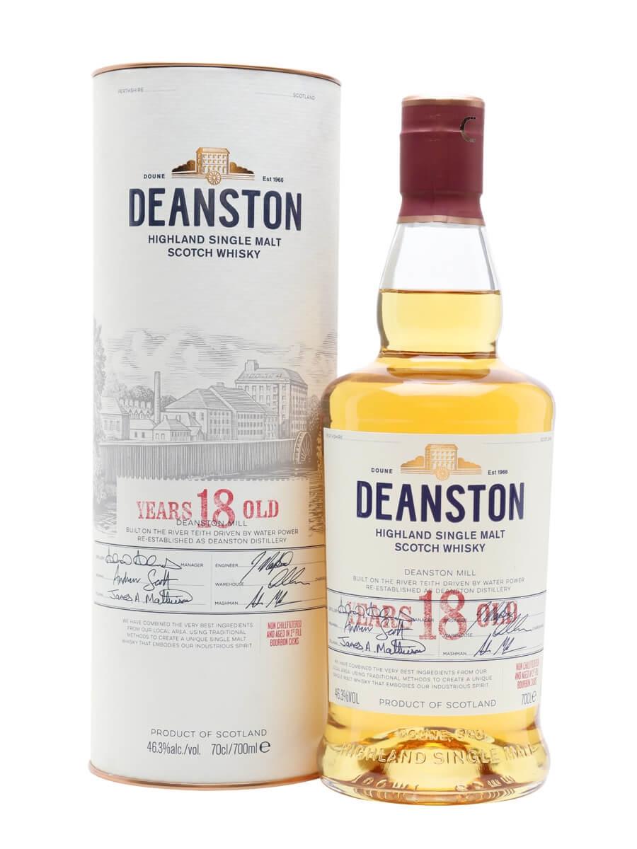 Deanston 18 Year Old / Bourbon Matured