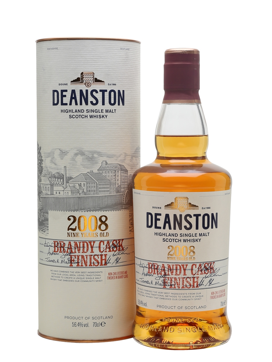 Deanston 2008 / 9 Year Old / Brandy Cask Finish