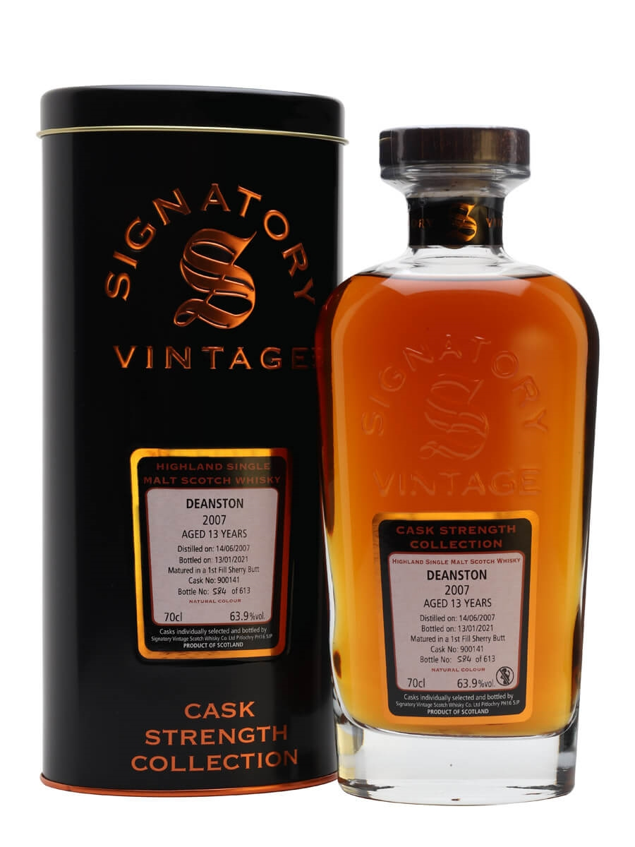 Deanston 2007 / 13 Year Old / Sherry Cask / Signatory