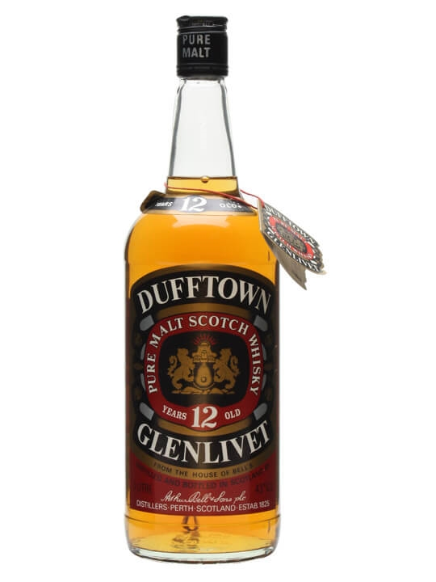 Dufftown-Glenlivet 12 Year Old / Bot.1980s