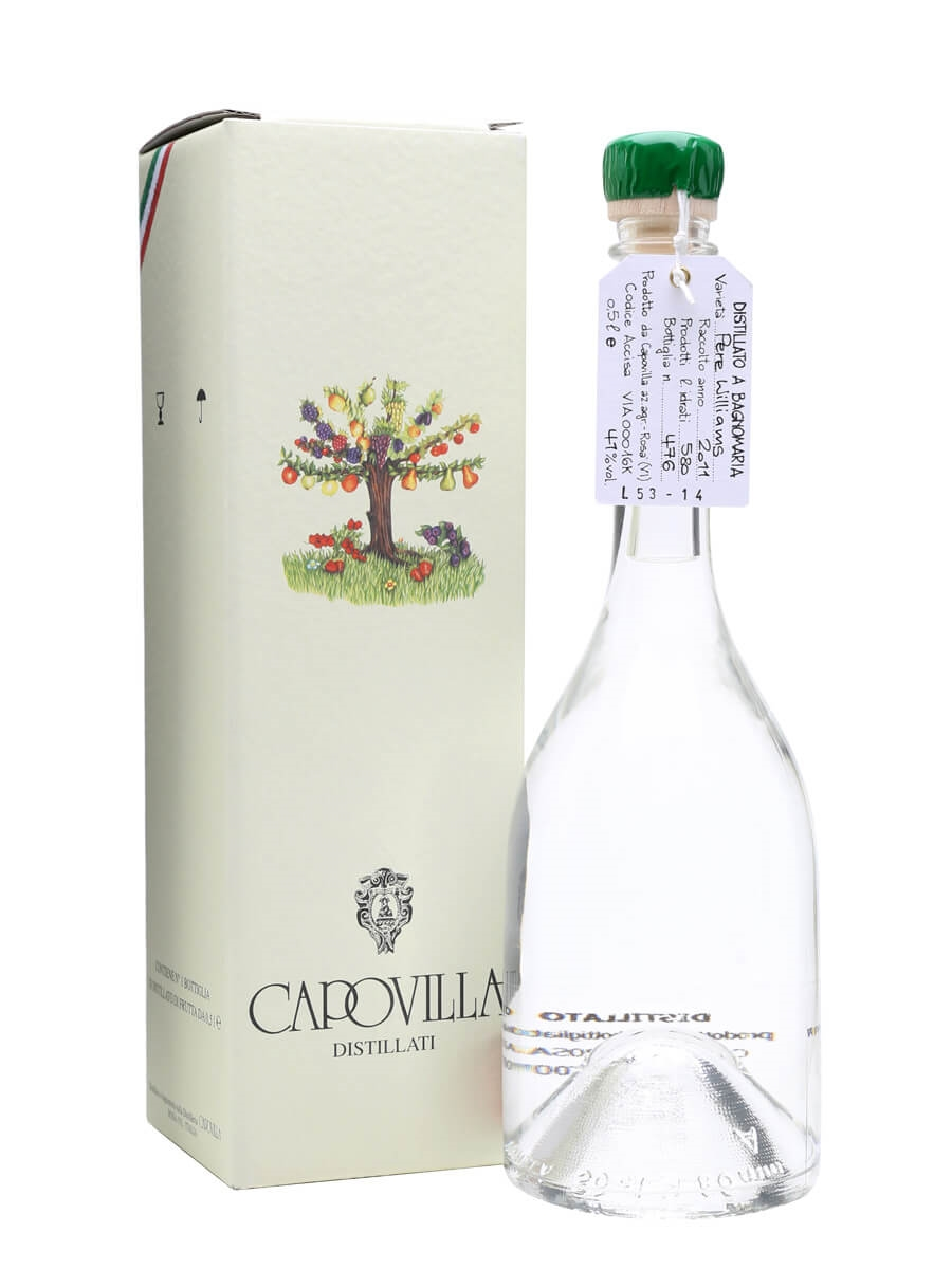 Capovilla Distillato di Pere Williams   The Whisky Exchange 2226a3f8fb60