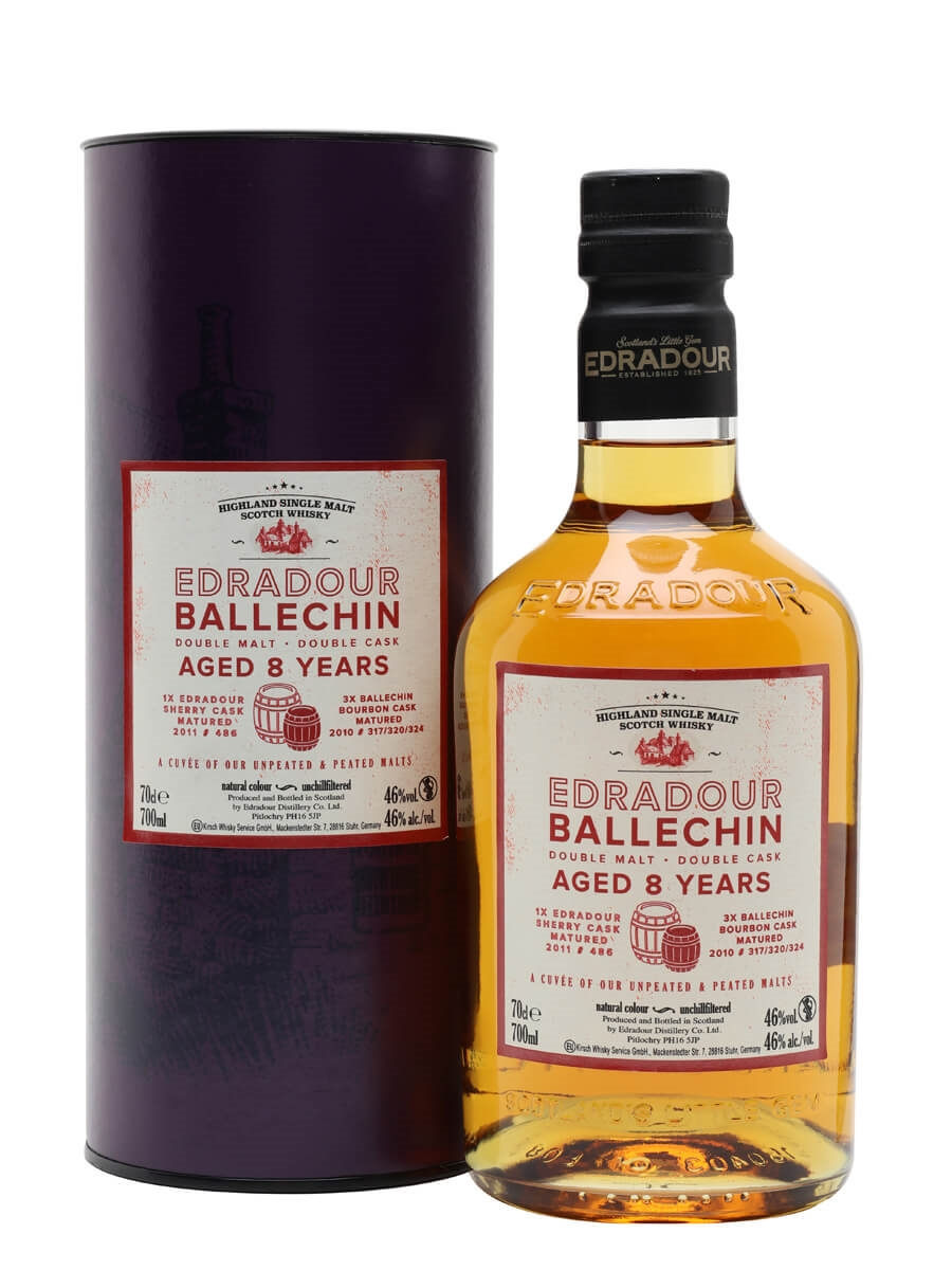 Edradour Ballechin Double Malt / 8 Year Old