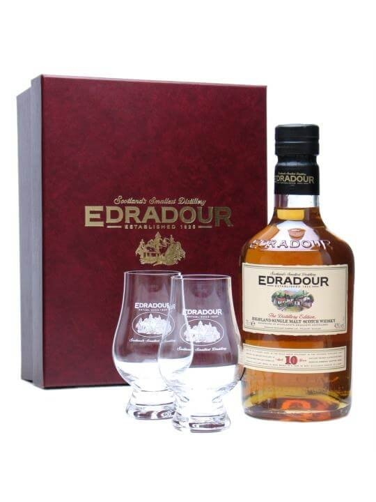 Edradour 10 Year Old Glass Pack