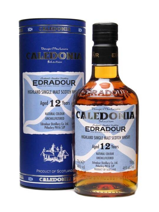 Edradour 12 Year Old / Caledonia Selection / Sherry Cask
