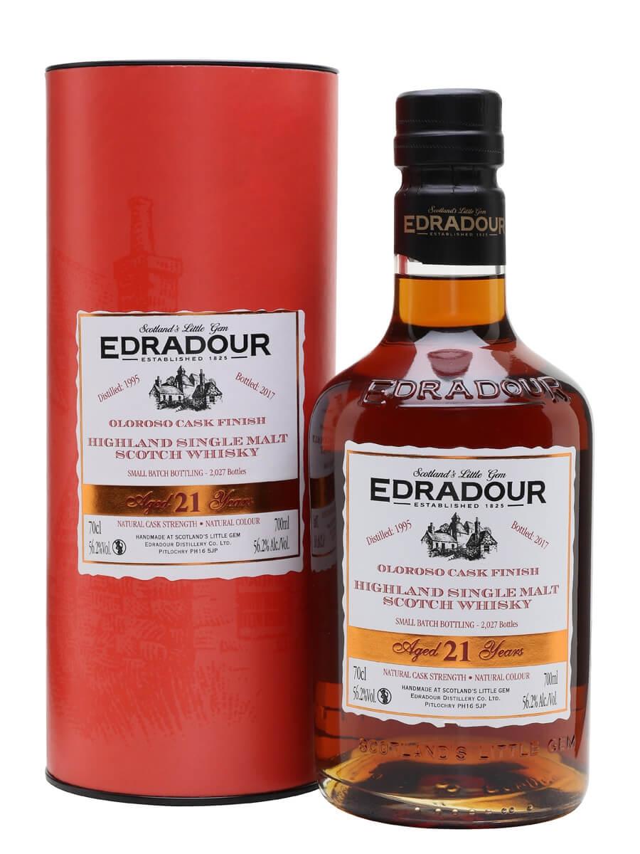 Edradour 1995 / 21 Year Old / Oloroso Finish