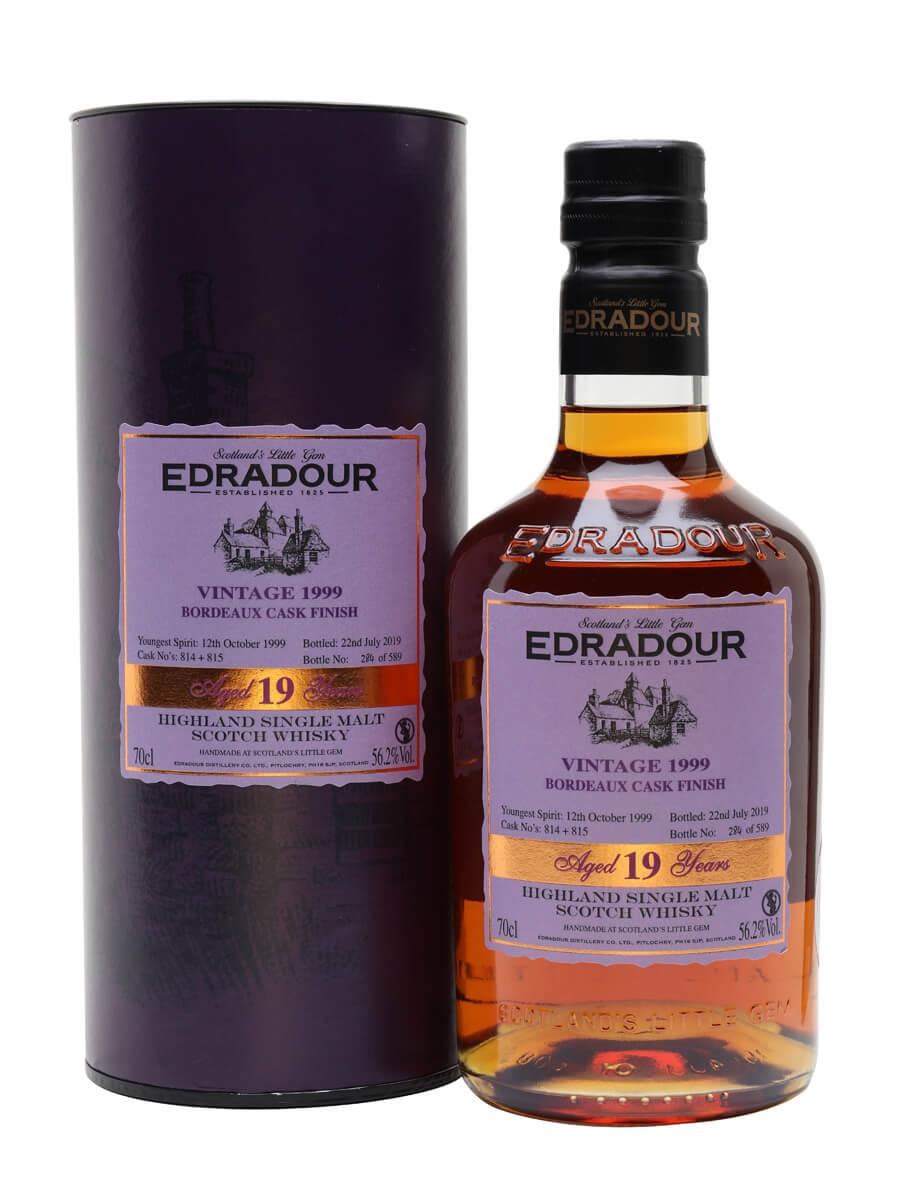 Edradour 1999 / 19 Year Old / Bordeaux Finish
