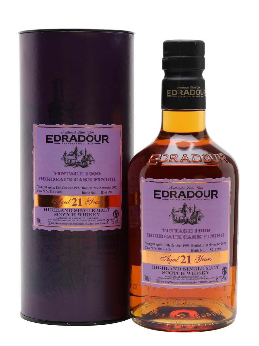 Edradour 1999 / 21 Year Old / Bordeaux Finish