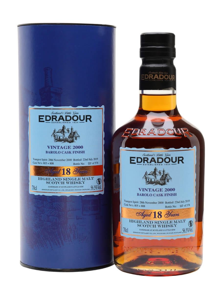 Edradour 2000 / 18 Year Old / Barolo Cask Finish