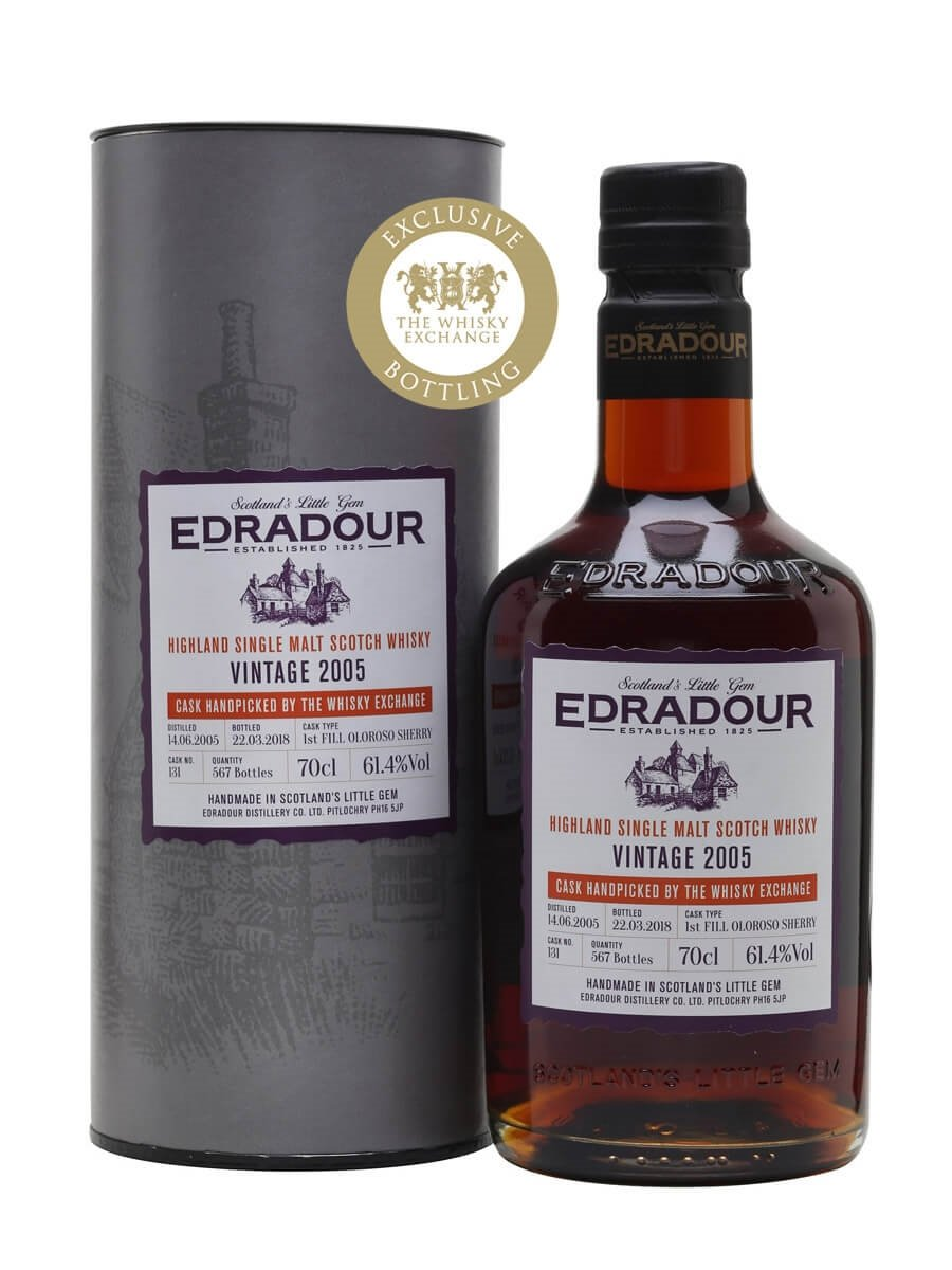 Edradour 2005 / 12 Year Old / Sherry Cask / TWE Exclusive