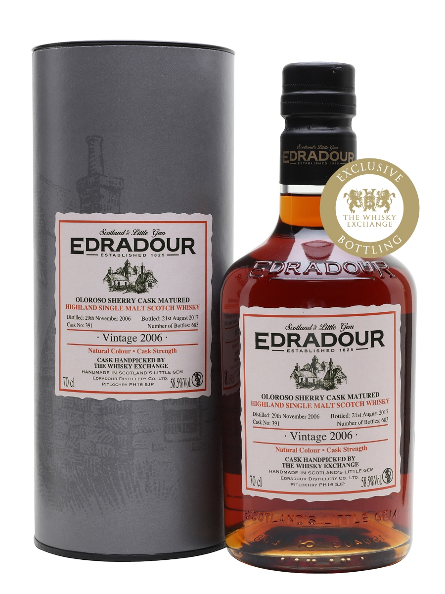 Edradour 2006 / 10 Year Old / Sherry Butt / TWE Exclusive
