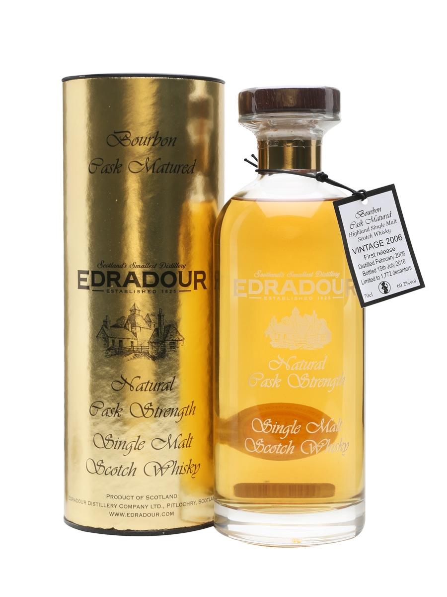 Edradour 2006 / 10 Year Old / Bourbon Cask