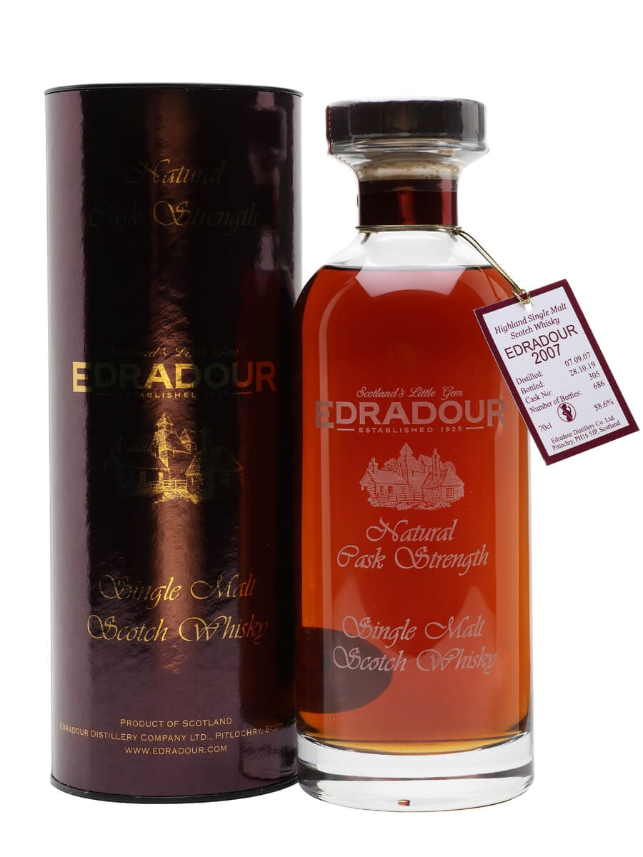 Edradour 2007 / 12 Year Old / Natural Cask Strength