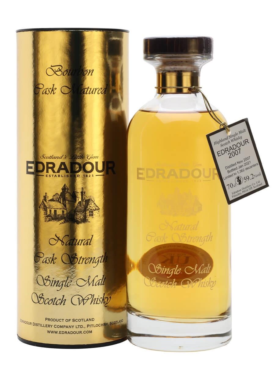Edradour 2007 / 13 Year Old / Bourbon Cask
