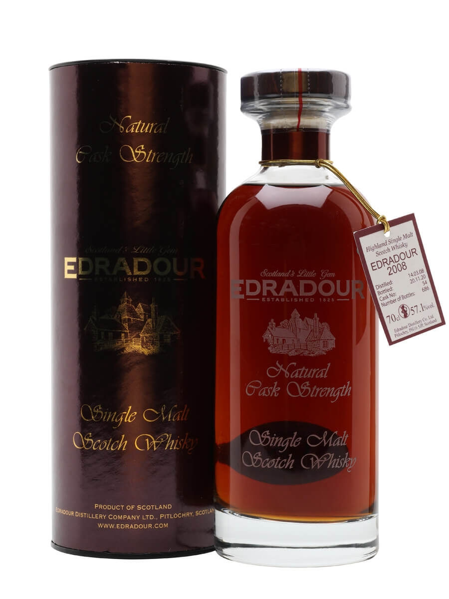 Edradour 2008 / 12 Year Old / Natural Cask Strength