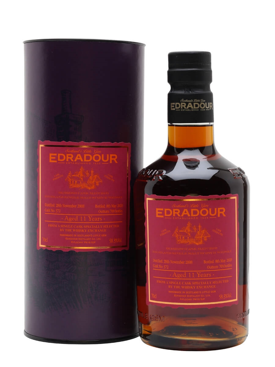 Edradour 2008 / 11 Year Old / Sherry Cask / TWE Exclusive