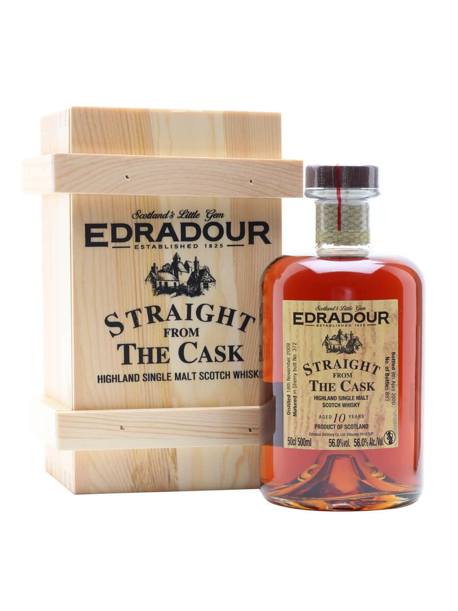 Edradour 2009 / 10 Year Old / Sherry Butt