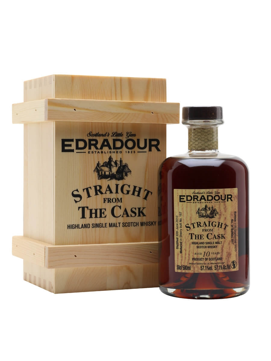 Edradour 2010 / 10 Year Old / Sherry Butt