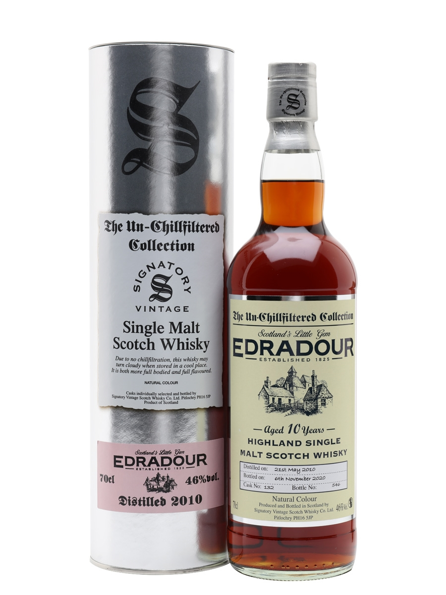 Edradour 2010 / 10 Year Old / Sherry Cask / Signatory