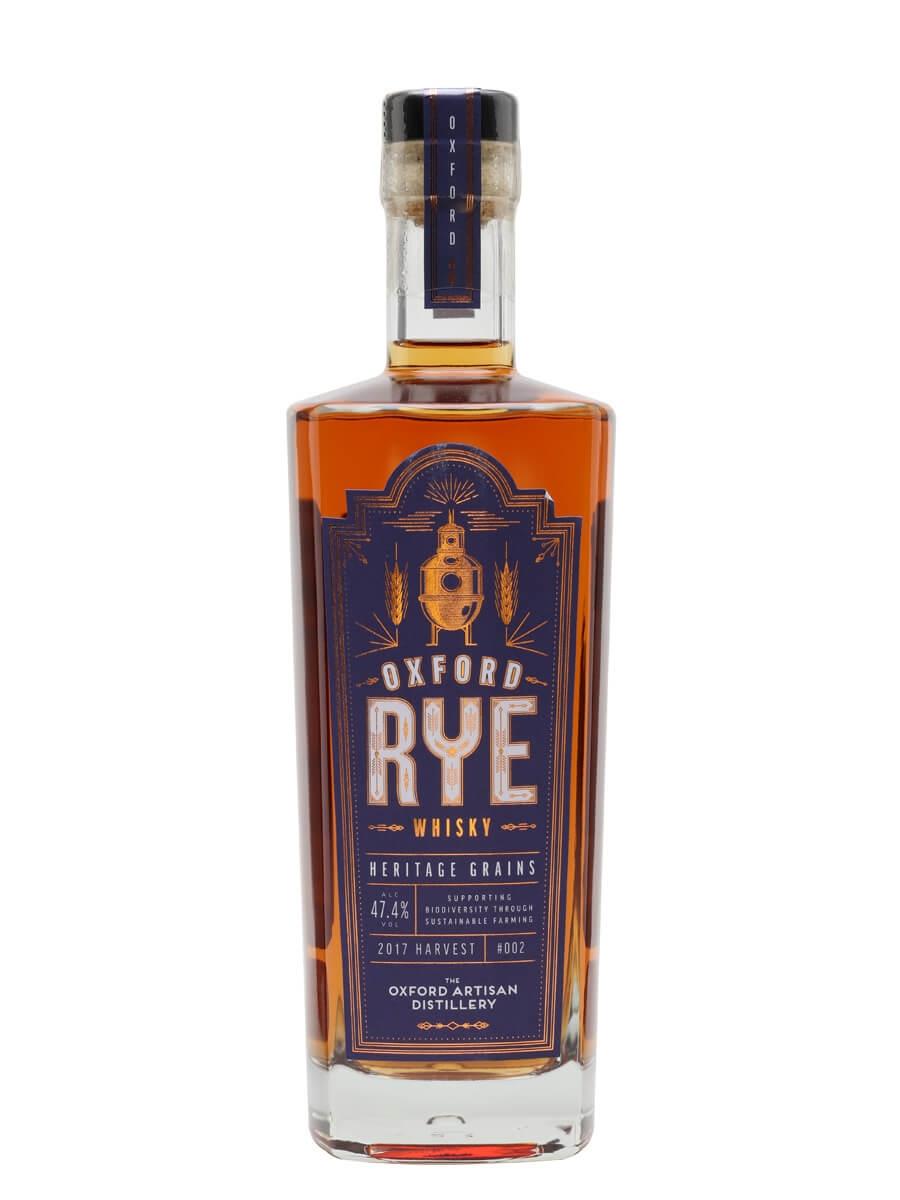 Oxford Rye Whisky 002 / 2017 Harvest