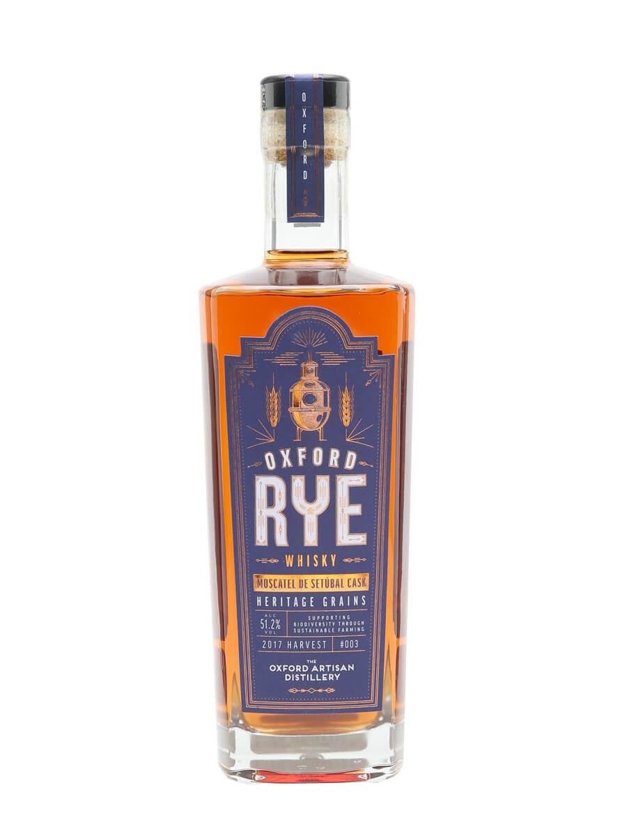 Oxford Rye Whisky 003 Moscatel De Setubal / 2017 Harvest / 51.2% / 70cl