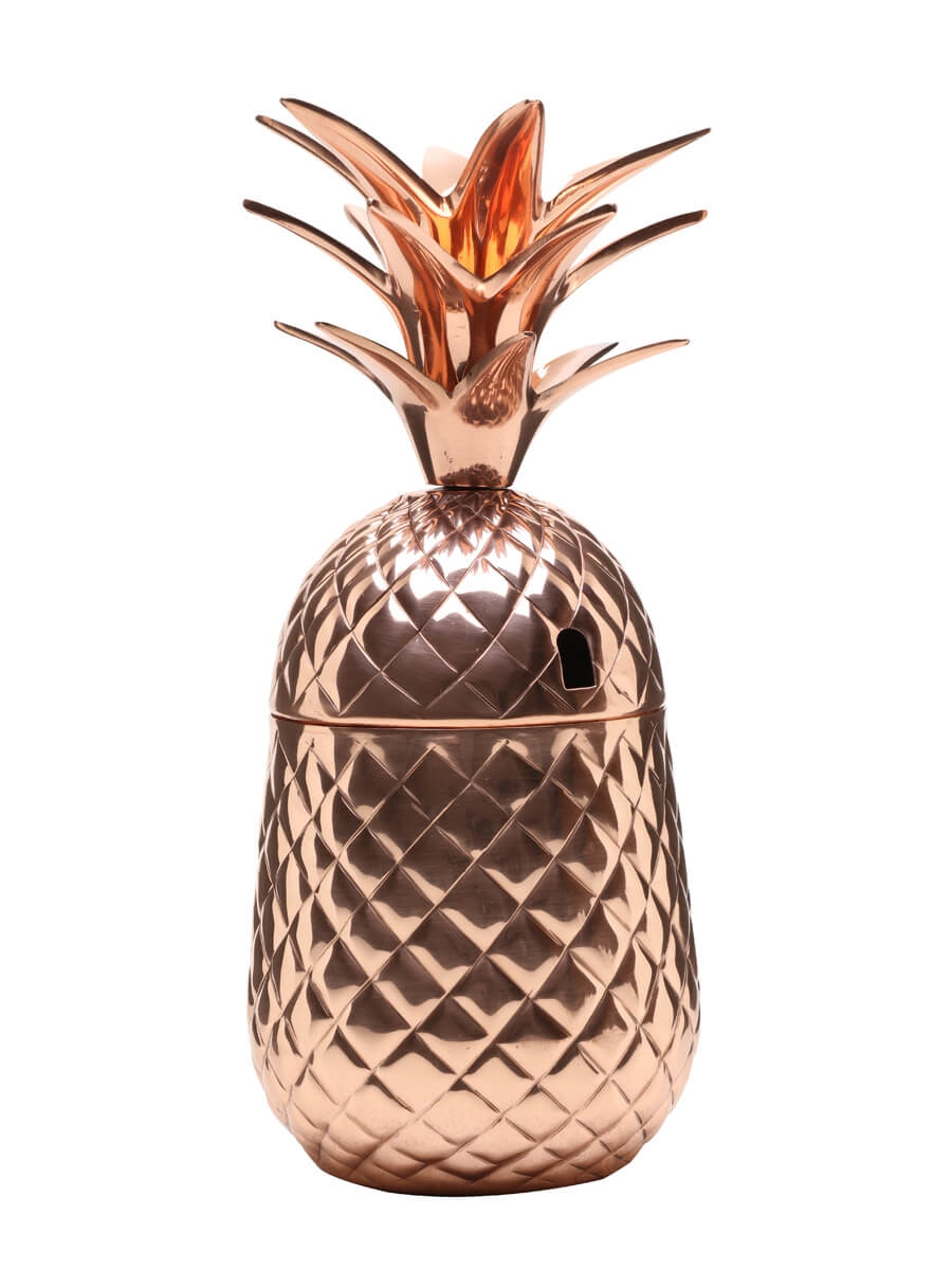 Solid Copper Pineapple Cocktail Cup / 65cl (23oz)
