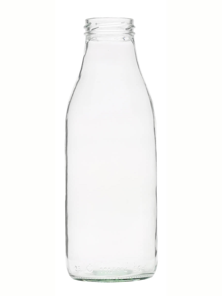 Cl Clear Glass Bottles
