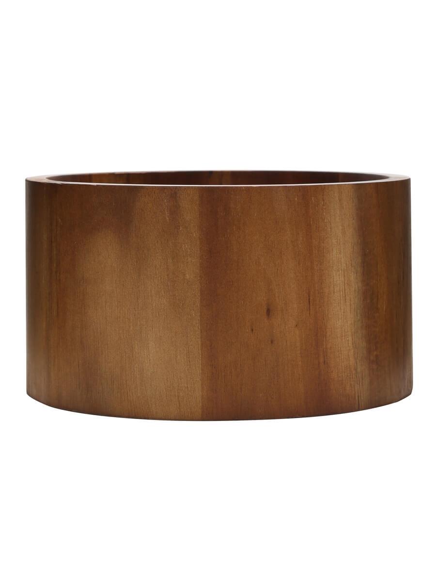 Acacia Punch Barrel Stand (Bowl) / 21.5cm (8.5'')