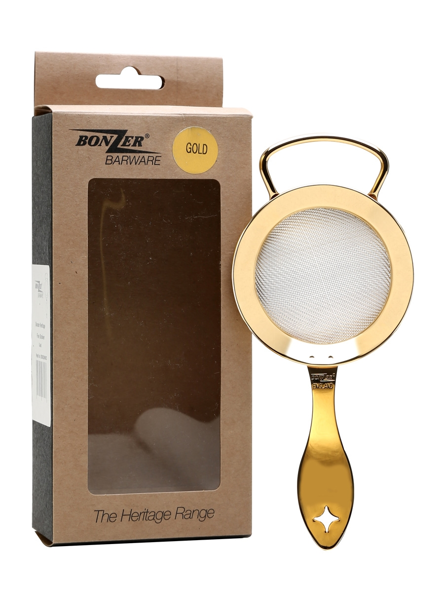 Bonzer Heritage Gold Plated Fine Strainer