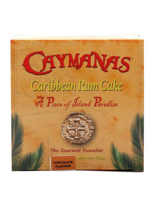 Caymanas Chocolate Caribbean Rum Cake / 100g