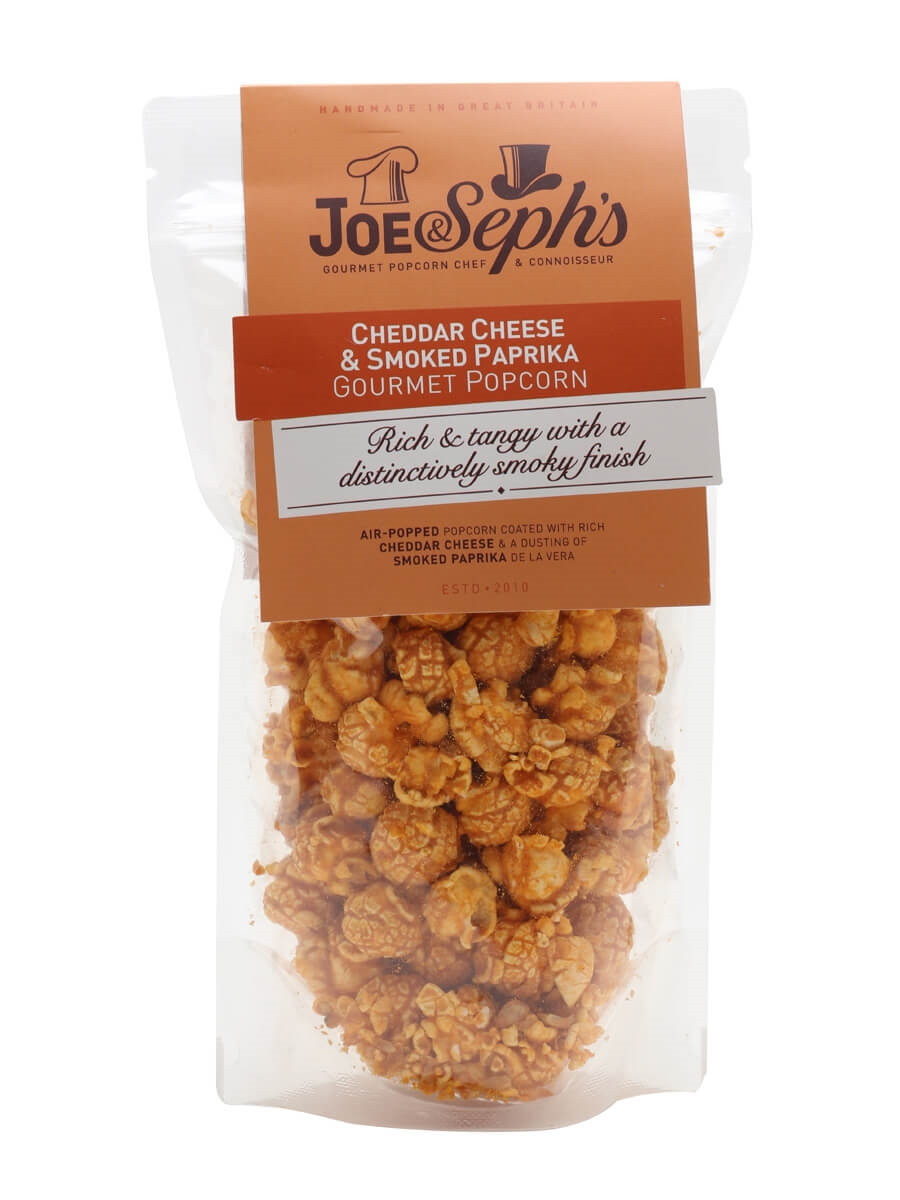 Joe & Seph's Smoked Paprika And Cheddar Cheese Popcorn Pouch / 70g