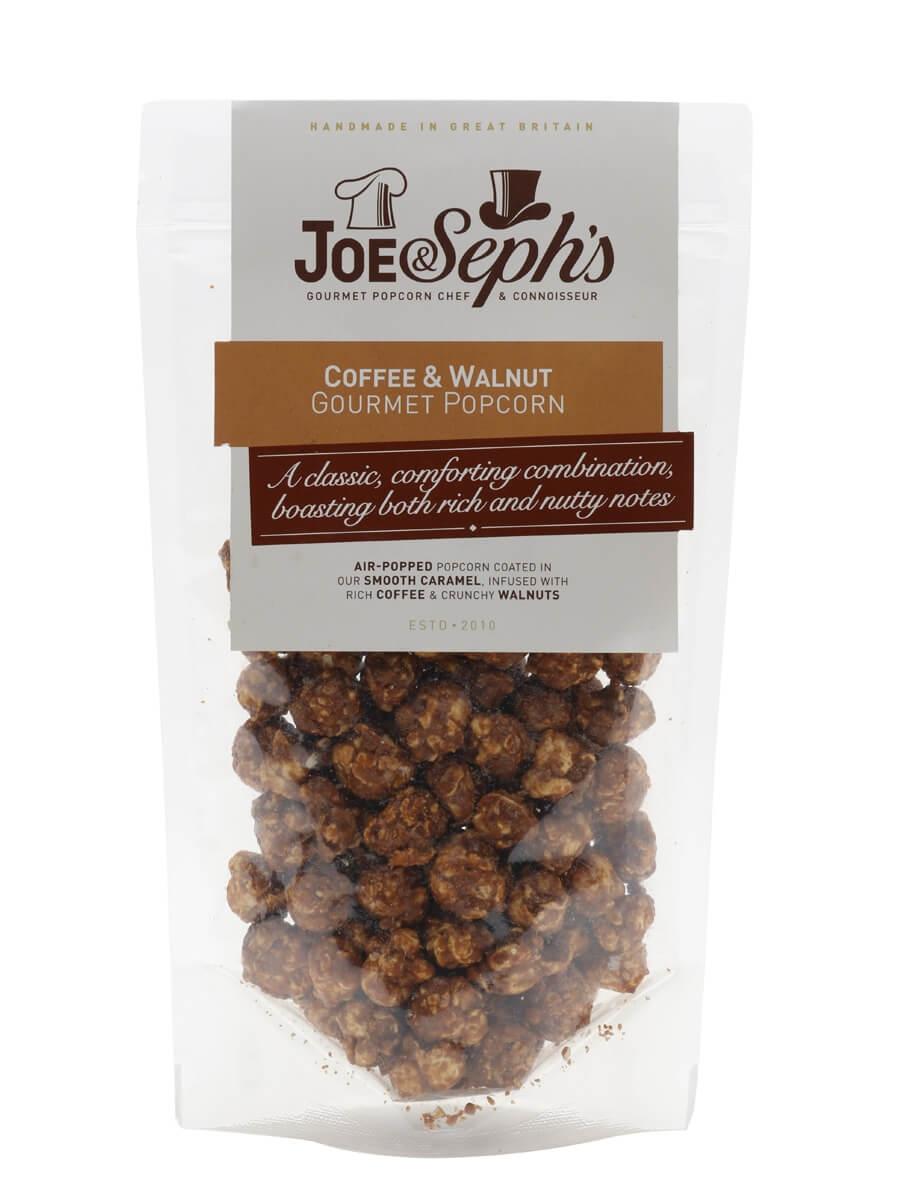 Joe & Seph's Coffee And Walnut Popcorn Pouch / 80g
