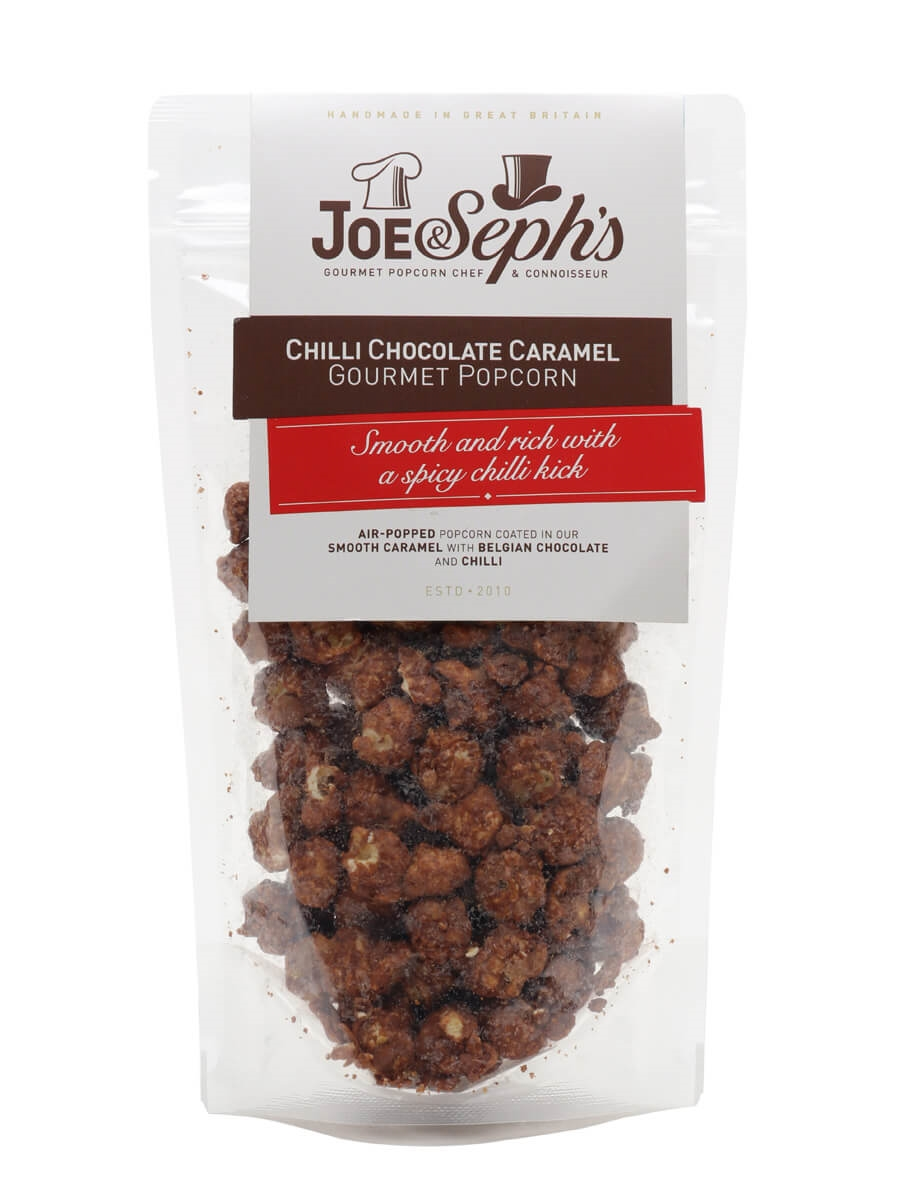 Joe & Seph's Chilli Chocolate and Caramel Popcorn Pouch / 80g