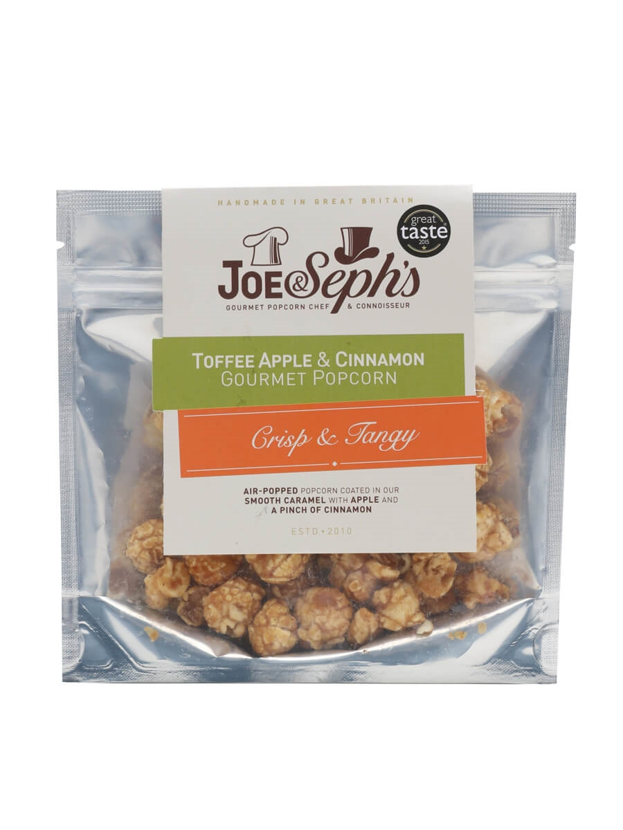 Joe & Seph's Toffee Apple And Cinnamon Popcorn Pouch / 32g
