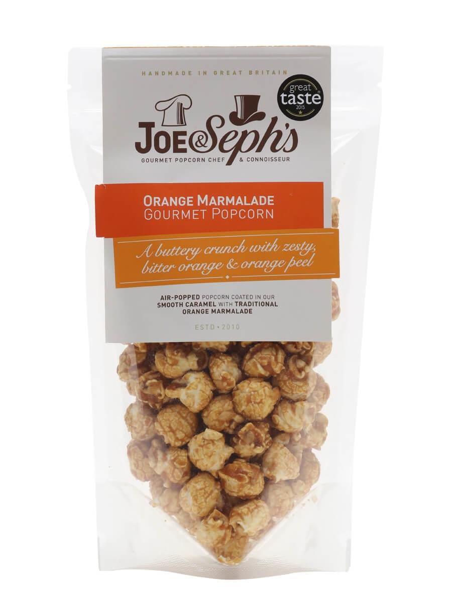 Joe & Seph's Orange Marmalade Popcorn Pouch / 80g