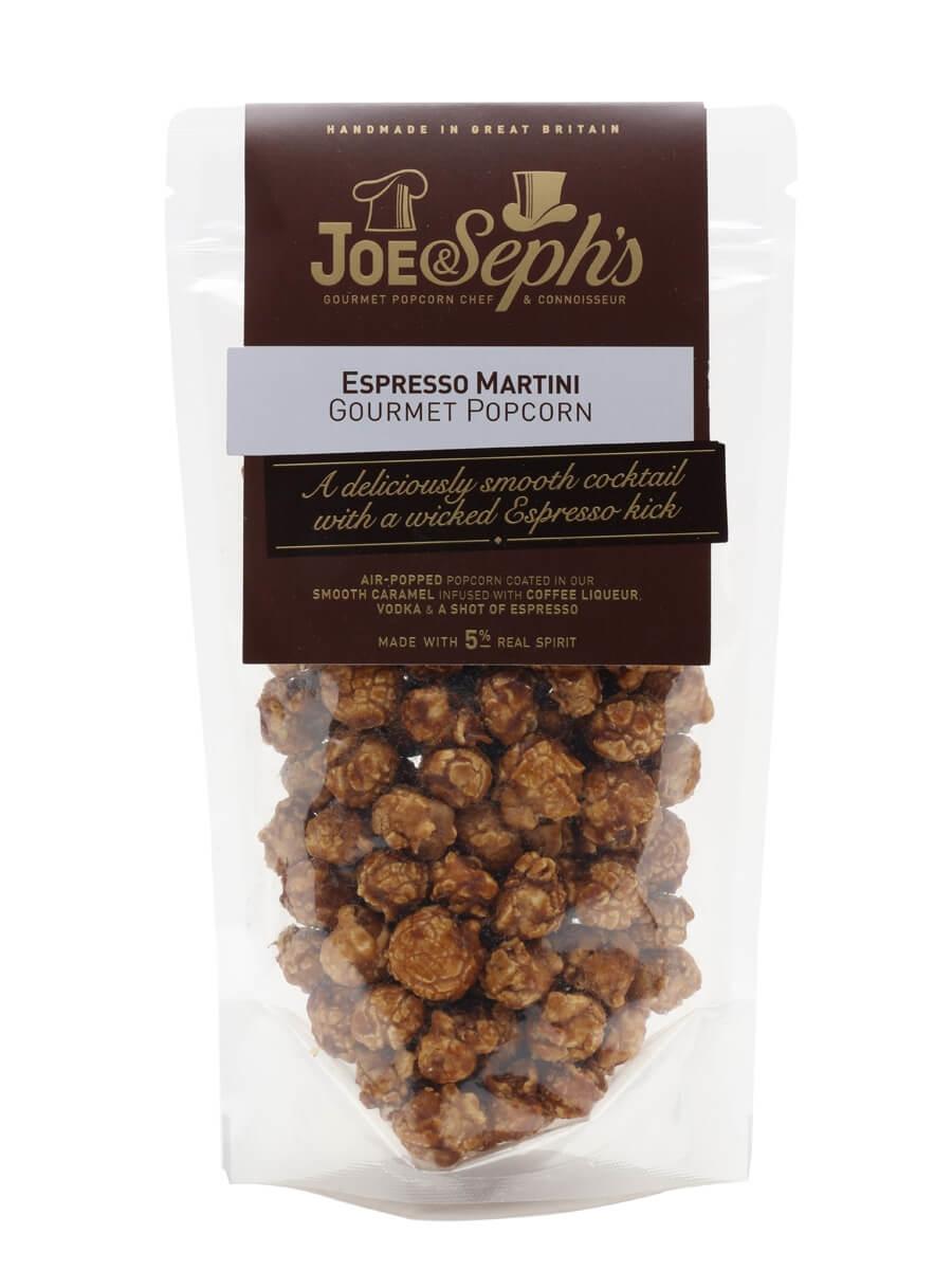 Joe & Seph's Espresso Martini Popcorn Pouch / 70g