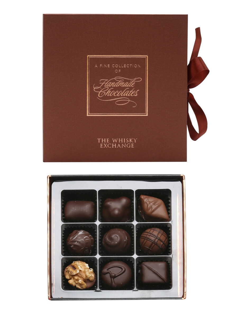 TWE Handmade Chocolates Selection / 9 Pack / 120g