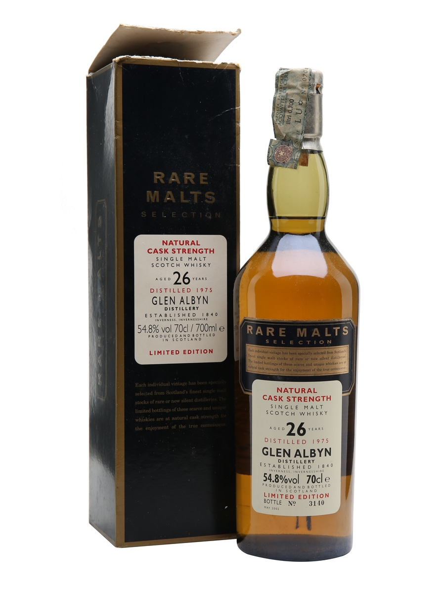 Glen Albyn 1975 / 26 Year Old / Rare Malts