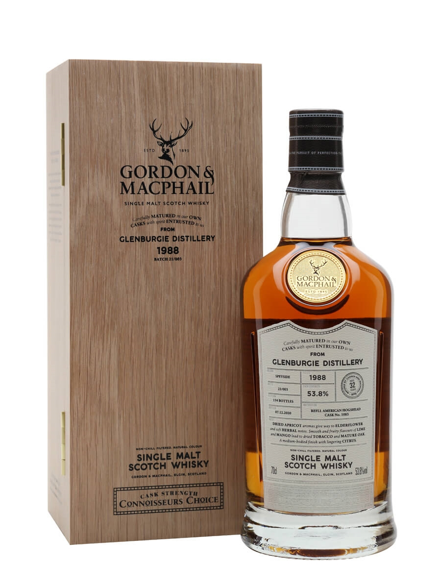 Glenburgie 1988 / 32 Year Old / Connoisseurs Choice