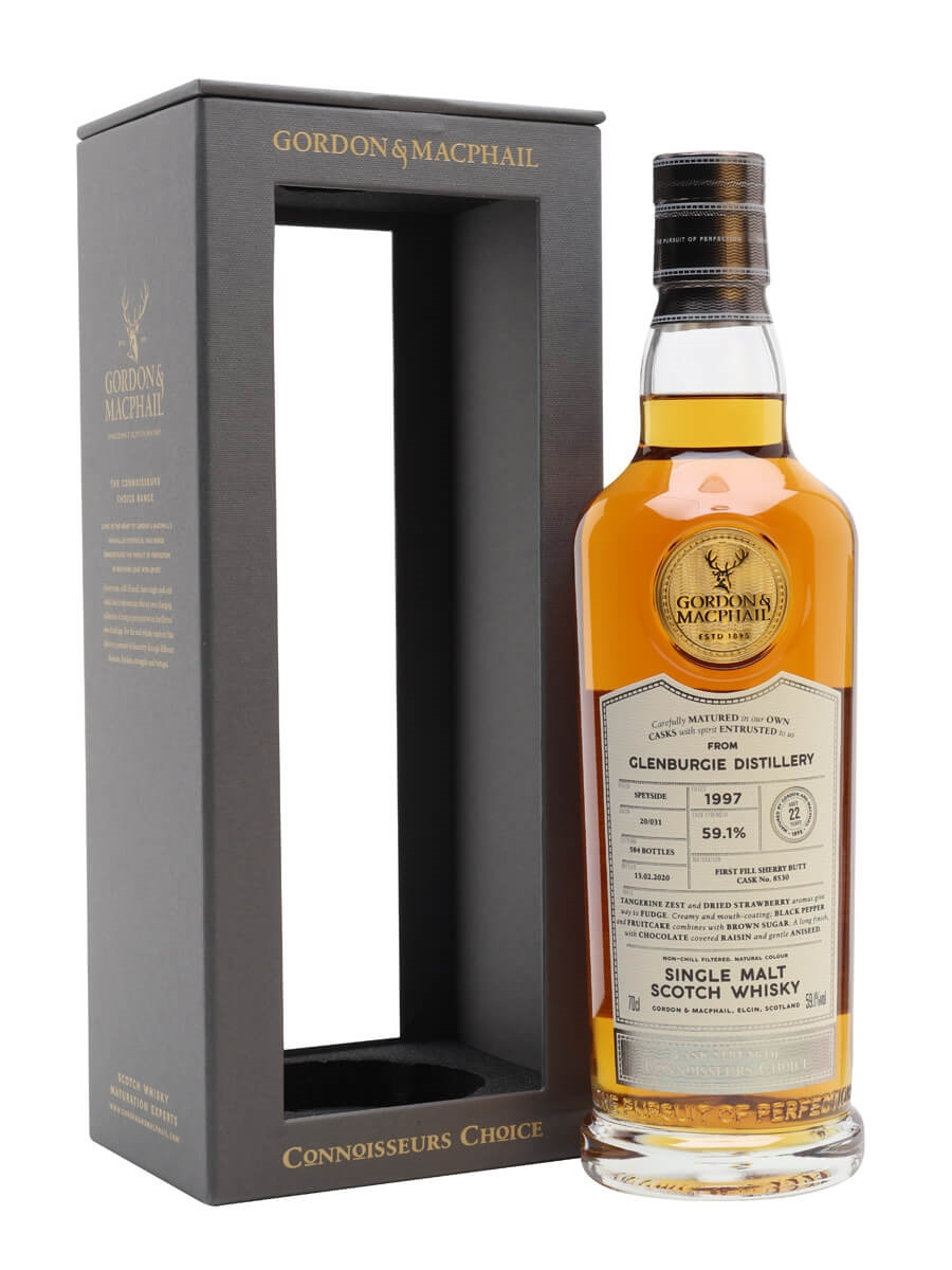 Glenburgie 1997 / 22 Year Old / Connoisseurs Choice