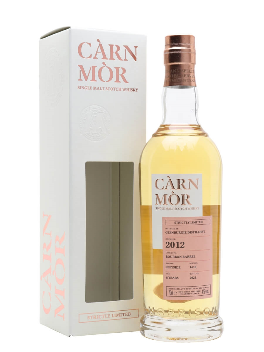 Glenburgie 2012 / 8 Year Old / Carn Mor Strictly Limited