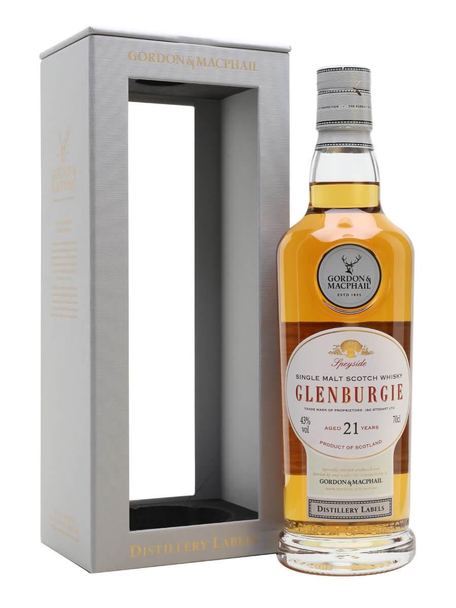 Glenburgie 21 Year Old / Bot.2018 / G&M Distillery Labels