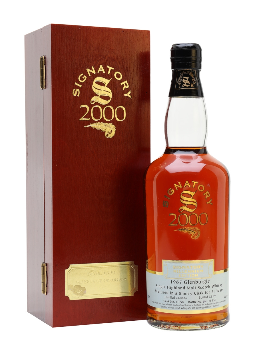 31 Year Old Sherry Cask Signatory