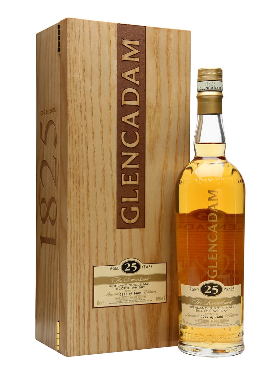 Glencadam 25 Year Old / The Remarkable / Original Release