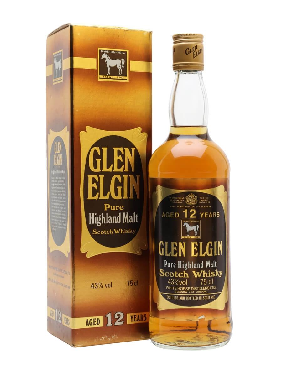 Glen Elgin 12 Year Old / Bot.1980s