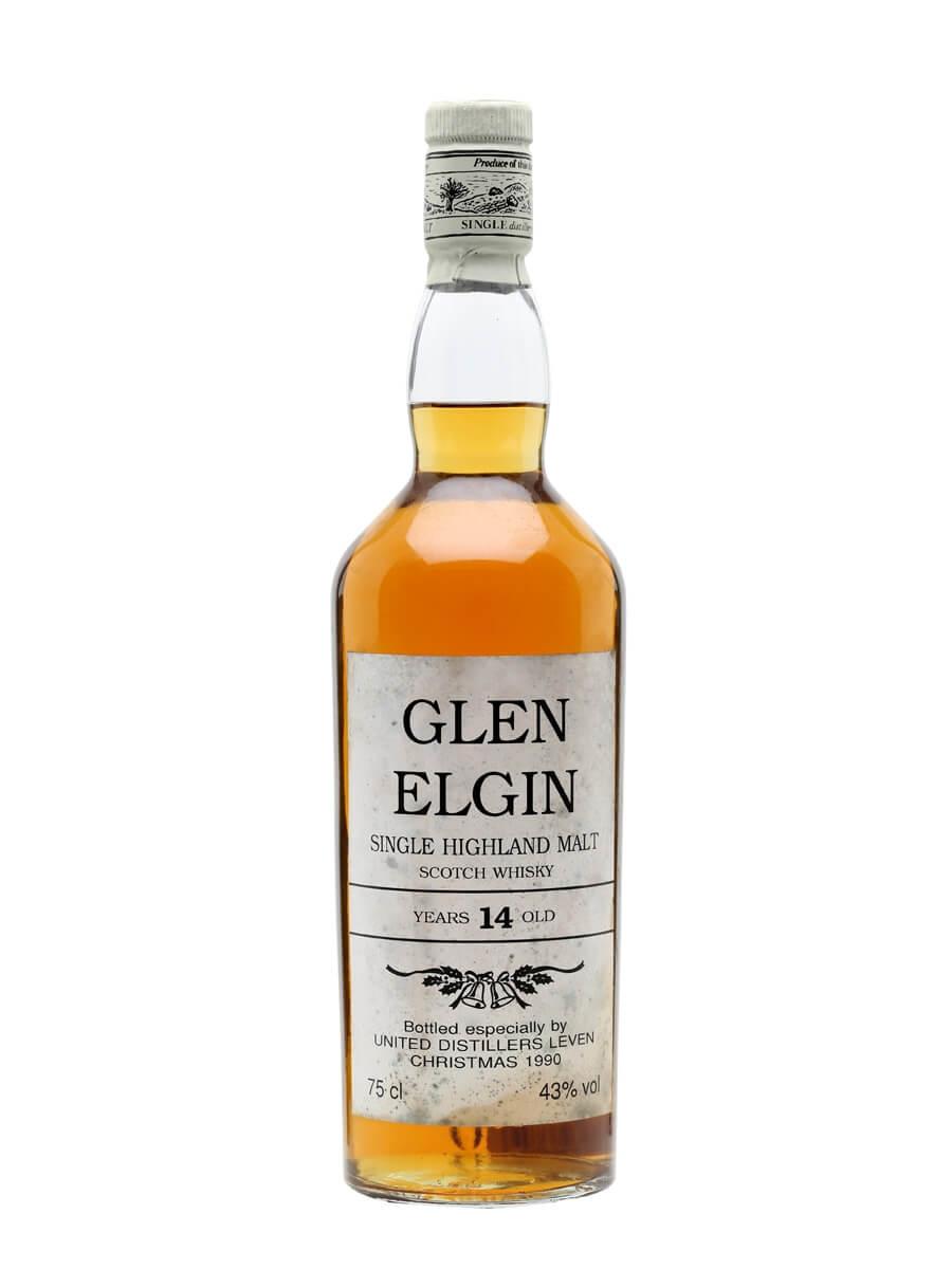 Glen Elgin 14 Year Old / United Distillers  Christmas 1990