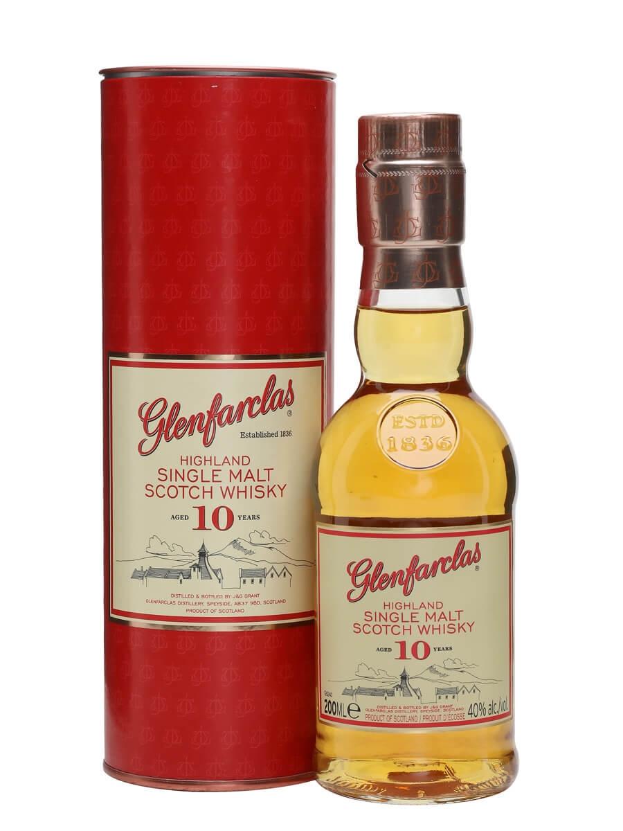 Glenfarclas 10 Year Old / Small Bottle