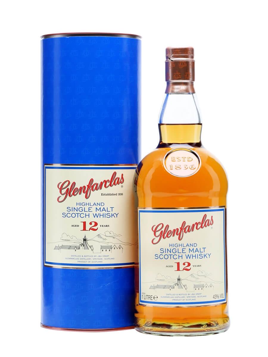 Glenfarclas 12 Year Old / Litre