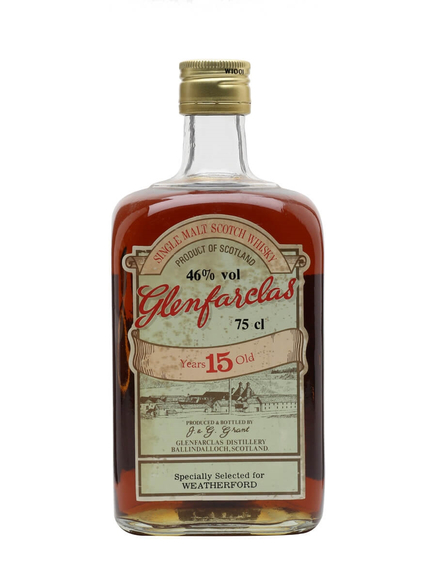Glenfarclas 15 Year Old / Bot.1980s / Selected for Weatherford