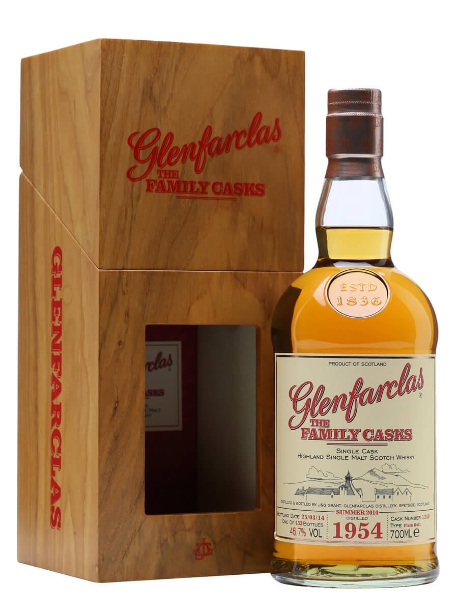 Glenfarclas 1954 / Family Casks S14 / Butt #1259